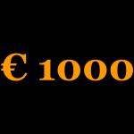 1000Eeuro